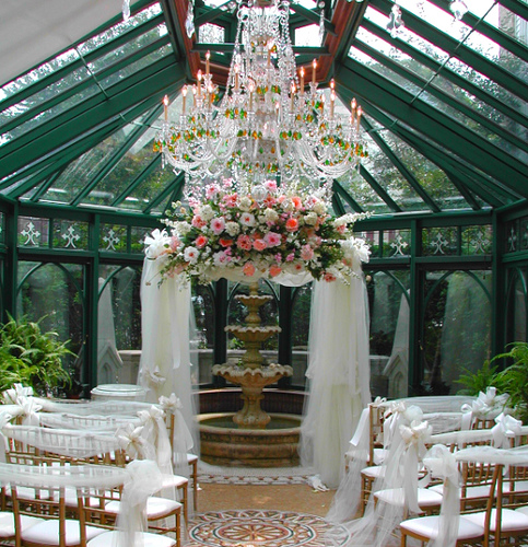 Wedding Gazebo Decorations Tulle: Ways to decorate the rose court ...