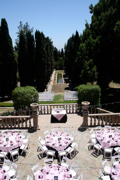 Villa Del Sol D Oro In Sierra Madre Gussied Up For A Wedding