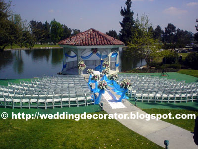 Cheap Wedding Locations  Angeles on Idyllic Garden Wedding At Almansor Court   Wedding Decorator Blog