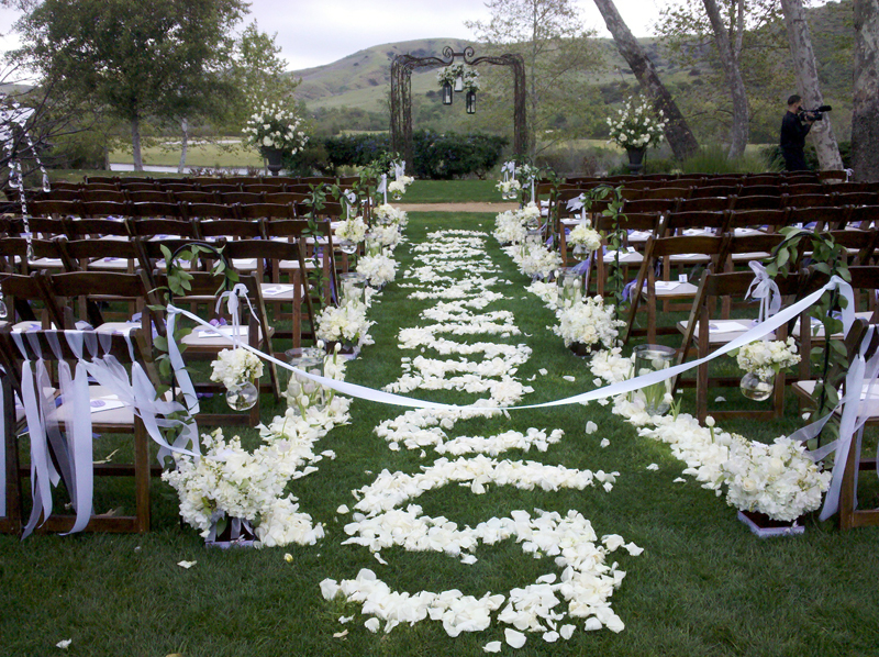 Garden wedding decorations - Garden wedding decorations pictures ...