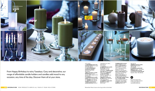 Wedding Decoration Ideas In The Ikea Catalog