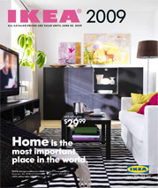 Wedding decoration ideas in the Ikea catalog -