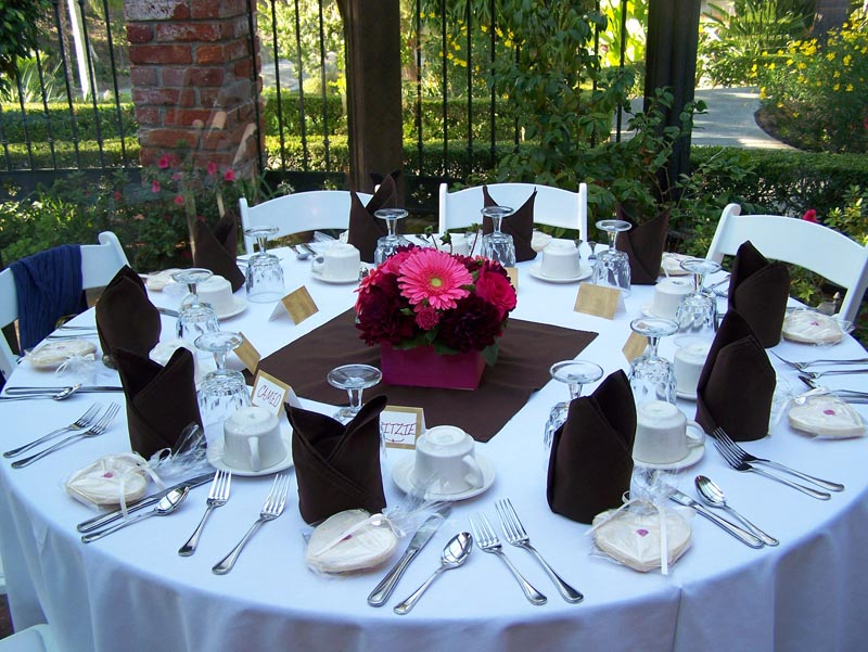 Guest Table Centerpieces From Real Weddings