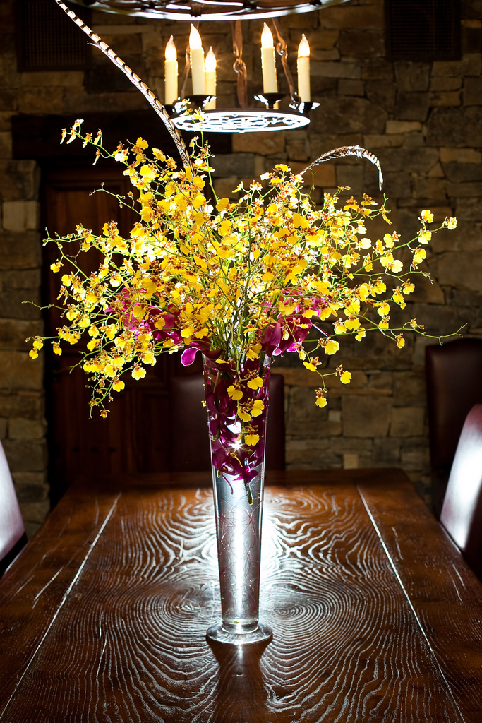 Tall flower arrangements