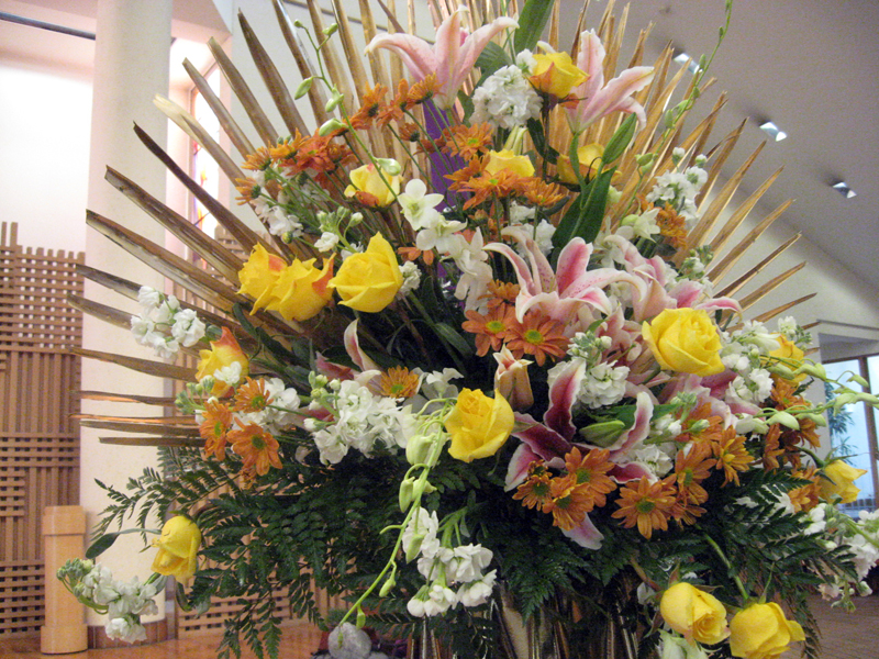 Flower Arrangements For 50th Wedding Anniversary Flowers Ideas